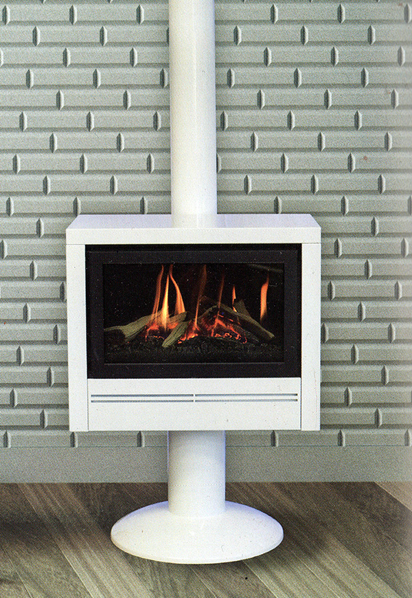 Coonara royal pedestal gas heater