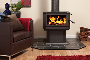 Midi freestanding wood heater