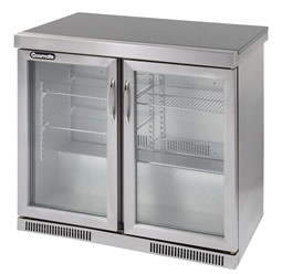 Platinum II 2 Door (228L) Bar Fridge