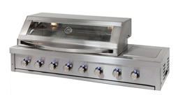 6 Burner Built In Platinum BBQ