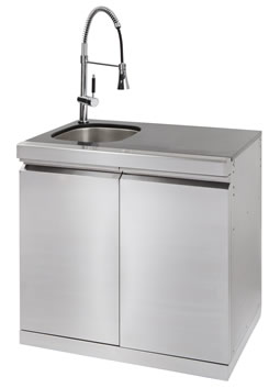 Platinum II Sink, Bin and Storage Module