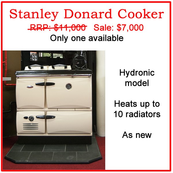 Stanley Donard Cooker on sale.