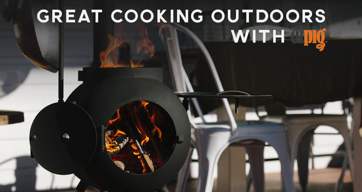 Great cooking outdoors with OzPig