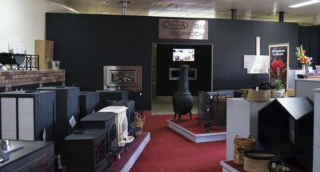 Pot Belly Stove Co showroom